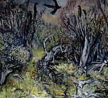 black cockatoos by glennbrady