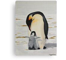 Antarctic Love Canvas Print