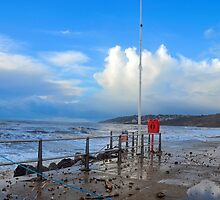 Storm Damage At Charmouth, Dorset, UK by lynn carter