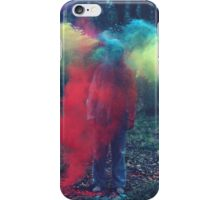 Exploding Colors iPhone Case/Skin