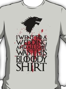 I Went To A Wedding T-Shirt