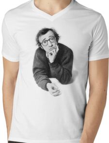 Sportin' Woody Mens V-Neck T-Shirt