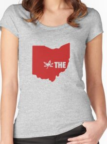 THE Ohio State University Women's Fitted Scoop T-Shirt