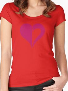 Aspect of heart Women's Fitted Scoop T-Shirt