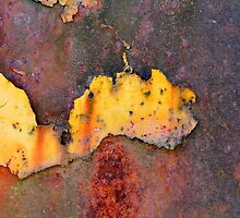 Rusted Ford by Sue Morgan