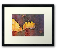 Rusted Ford Framed Print