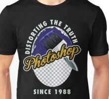 Photoshop Distorting Truth Unisex T-Shirt