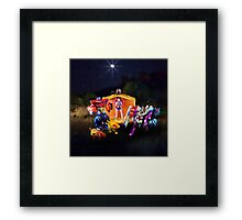 Upon a Midnight Prime Framed Print