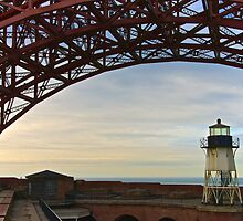 Fort Point Lighthouse by Scott Johnson
