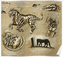 Bestiary: Allothog Poster