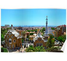 Park Guell overview Poster
