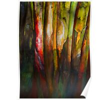 Painted Trees Poster