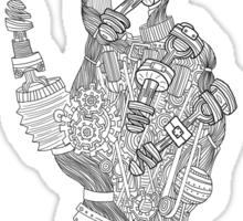 Mechanical Genius Sticker