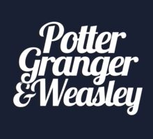 Potter Granger & Weasley One Piece - Long Sleeve