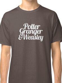 Potter Granger & Weasley Classic T-Shirt