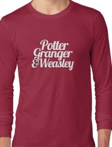 Potter Granger & Weasley Long Sleeve T-Shirt
