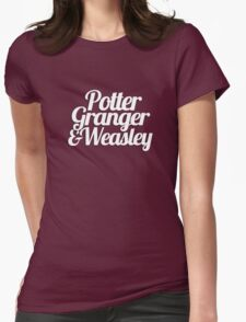 Potter Granger & Weasley Womens Fitted T-Shirt