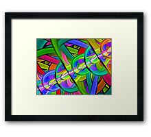 Lights of the New Year Framed Print