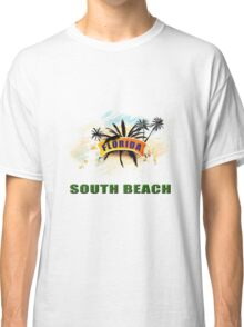 South Beach Collectors Tee-shirt and Stickers Classic T-Shirt