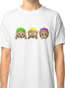 Flower Crown Monkeys Classic T-Shirt