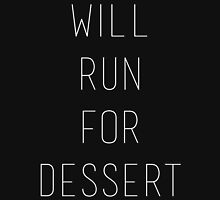 Will Run for Dessert Tank Top