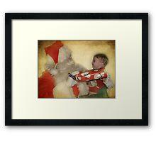 Christmas is for smiles Framed Print