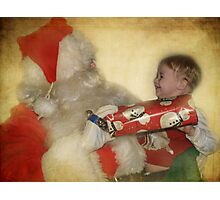 Christmas is for smiles Photographic Print