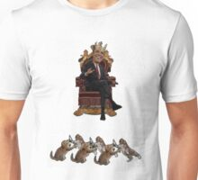 King Obama Ruler of the Cats Unisex T-Shirt