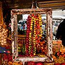 Framed Peppers by Rae Tucker