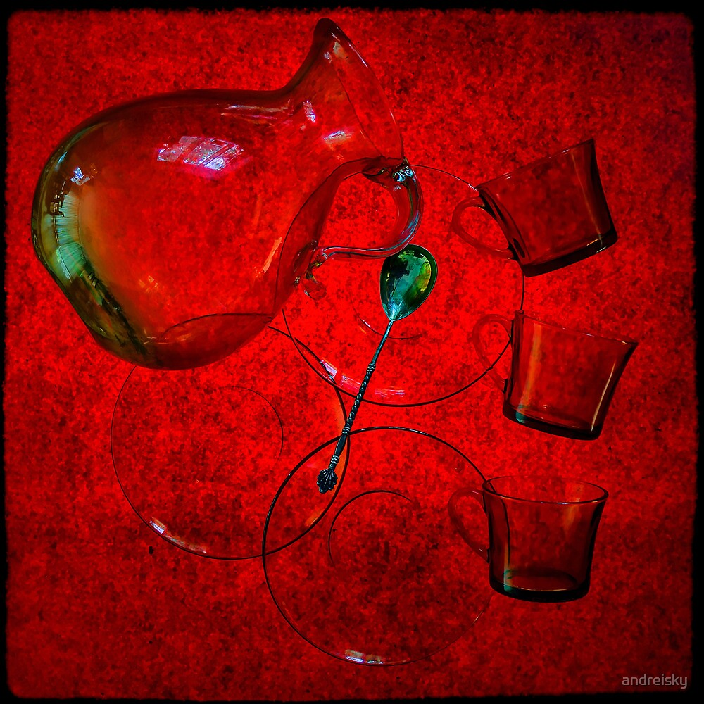 Still life in red by andreisky