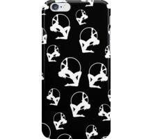 Lyra Aerialist in Hoop Silhouette iPhone Case/Skin
