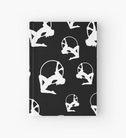 Lyra Aerialist in Hoop Silhouette Hardcover Journal