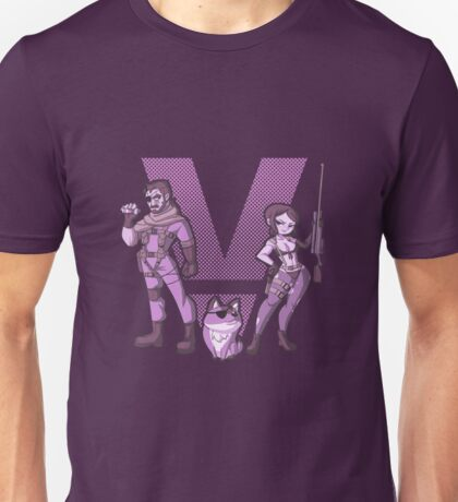 Diamond Dogs - Violet Unisex T-Shirt