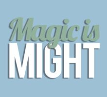 Magic is Might Kids Clothes