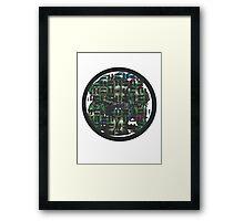 NYC SEWER Framed Print