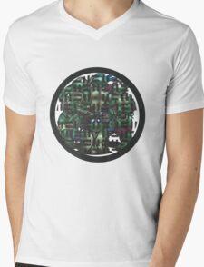 NYC SEWER Mens V-Neck T-Shirt