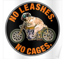 NO LEASHES, NO CAGES Poster