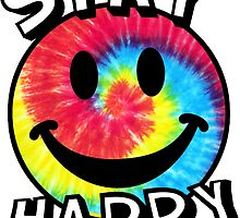 Stay Happy Smiley Face by katiefarello