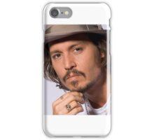 Cool Johnny Depp iPhone Case/Skin