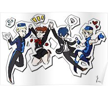 Persona 3 Velvet Friends Poster