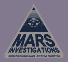 MARS INVESTIGATIONS - BLUE Kids Clothes