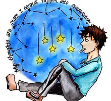 """TFIOS - """"My Thoughts Are Stars I Cannot Fathom Into Constellations"""" by charsheee"""