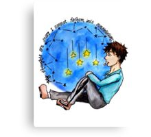"""TFIOS - """"My Thoughts Are Stars I Cannot Fathom Into Constellations"""" Canvas Print"""