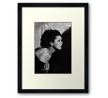 The Clara Bow Tattoo Framed Print