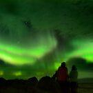 AURORA BOREALIS - ICELAND by Vlavo