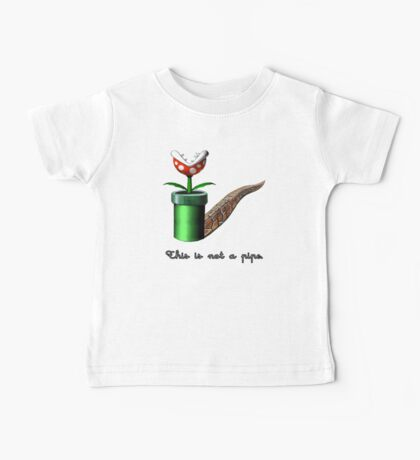 Super Mario for Magritte (English Version) Baby Tee