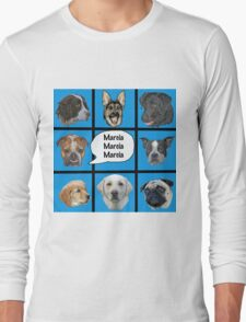 Silly dogs spoof  Long Sleeve T-Shirt