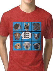 Silly dogs spoof  Tri-blend T-Shirt