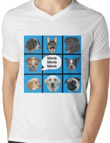Silly dogs spoof  Mens V-Neck T-Shirt