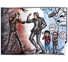 Hannibal Lecter vs John Reese Poster